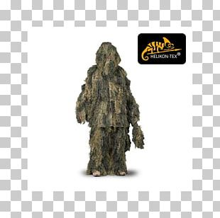 Ghillie Suits Military Camouflage U.S. Woodland Helikon-Tex PNG