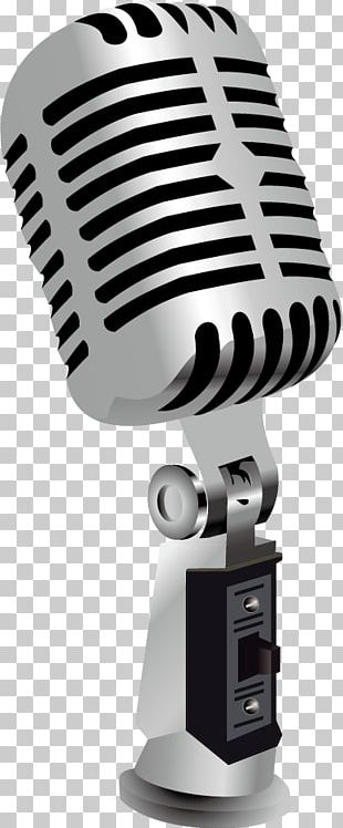 Microphone Poster Cdr PNG