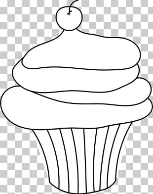 Cupcake Frosting & Icing Drawing PNG