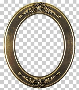 Frames Mirror Oval PNG