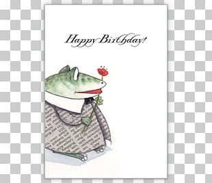 Greeting & Note Cards Frog Christmas Card Birthday Saying PNG