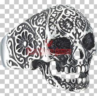 Skull La Calavera Catrina Day Of The Dead Ring PNG