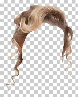 Wig Blond Capelli PNG