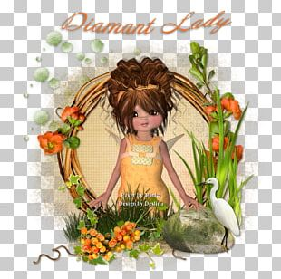 Floral Design Fiction Flowering Plant Character PNG