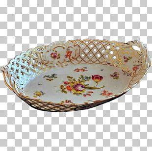 Platter Porcelain Bowl Tableware Oval PNG