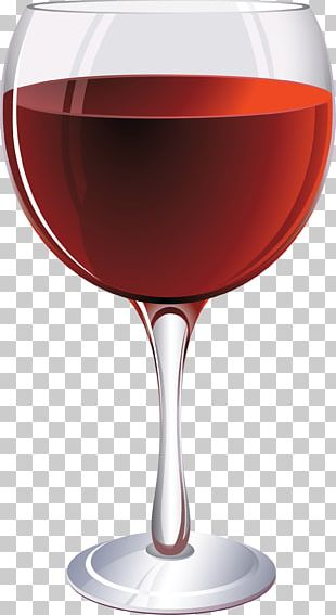 Red Wine Champagne Cocktail Wine Glass PNG