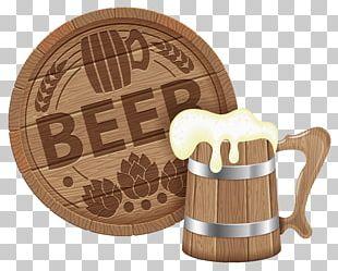 Oktoberfest Beer Glasses Barrel PNG