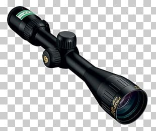 Telescopic Sight Reticle Long Range Shooting Optics Nikon PNG