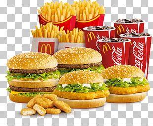 McDonald's Junk Food Fast Food Cuisine Of The United States Hamburger PNG