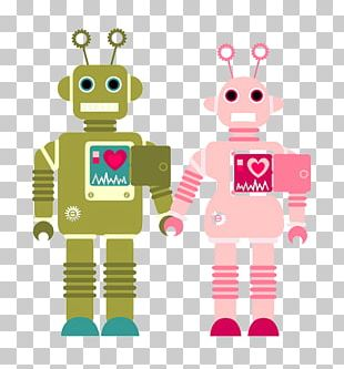 Robot Couple PNG