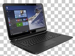 Laptop Hewlett Packard Enterprise Windows 10 Multi-core Processor Hard Disk Drive PNG