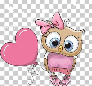 Owl Cartoon Cuteness PNG