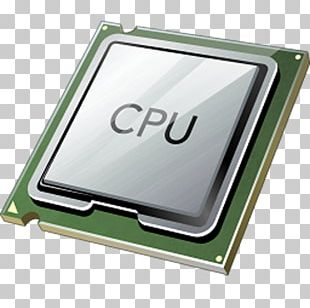 Central Processing Unit Computer Hardware Computer Cooling Microprocessor Icon PNG