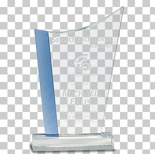 Trophy Award Glass Commemorative Plaque Engraving PNG