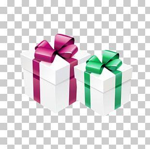Gift Ribbon Decorative Box PNG