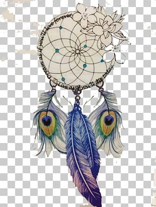 Dreamcatcher Drawing Feather Tattoo PNG