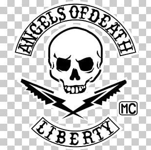 Line Art Headgear Skull Logo PNG