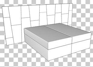 Bed Frame Mattress Line PNG