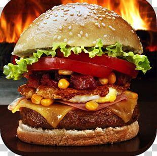Cheeseburger Veggie Burger Hamburger Buffalo Burger Fast Food PNG