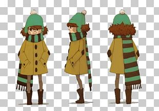Character Design Turnaround Drawing PNG