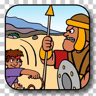 David And Goliath Bible Story PNG