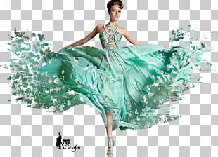 Gown Fashion Model Beauty.m PNG