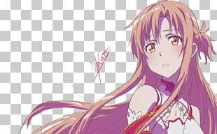 Asuna Kirito Sword Art Online Fan Art Anime PNG