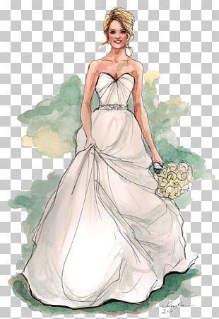 Drawing Bride Wedding Illustrator Illustration PNG