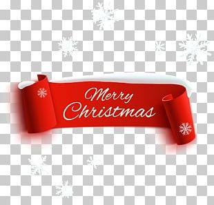 Christmas Decoration Paper Ribbon PNG
