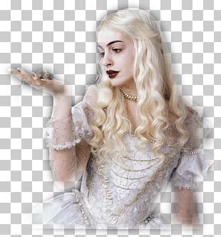 Anne Hathaway Alice In Wonderland White Queen The Mad Hatter Red Queen PNG