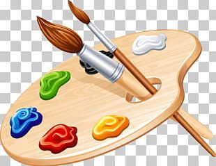 Palette Painting Paintbrush PNG