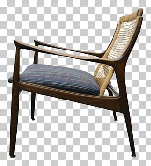 Furniture Chair Armrest Wicker Wood PNG