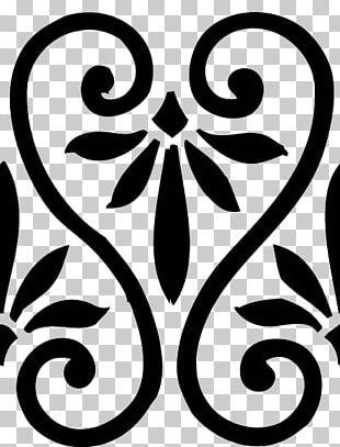 Stencil Pattern Tile Graphics PNG