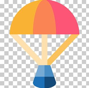 Scalable Graphics Parachute Icon PNG