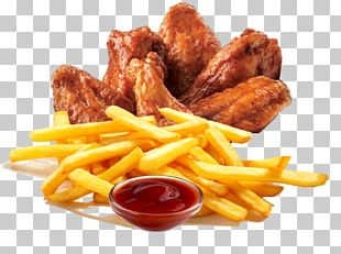 French Fries Chicken And Chips Fried Chicken Fast Food Chicken Fingers PNG
