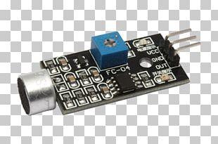 Microcontroller Microphone Electronics Sensor Arduino PNG