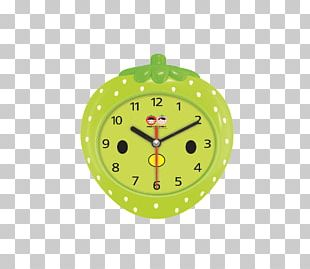 Alarm Clock Strawberry Fruit PNG