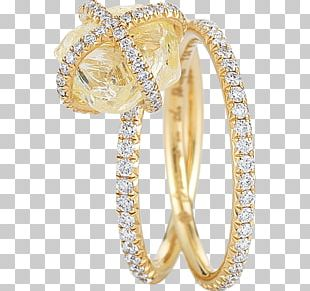 Gold Wedding Ring Silver Bangle Jewellery PNG