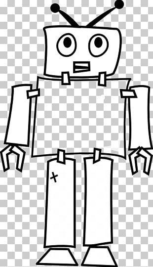 Robotics Line Art PNG