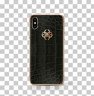 IPhone X Gold Metal Marble Mobile Phone Accessories PNG