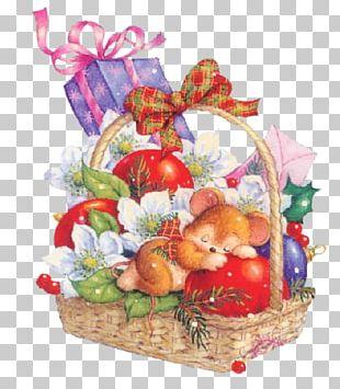 New Year Christmas Gift Santa Claus Wish PNG