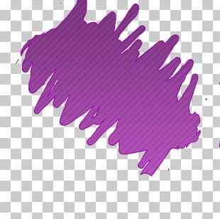 Mulberry Violet Color Purple Stain PNG
