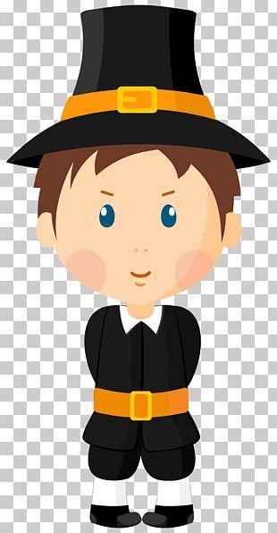 Pilgrims Boy PNG