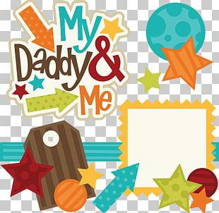 Father Scrapbooking Family PNG