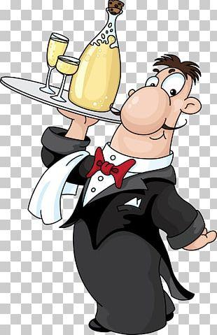 Waiter Drink Chef PNG