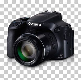 Bridge Camera Zoom Lens Canon Photography PNG