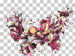 Petal Flower Floral Design Confetti Wedding PNG