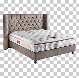 Bed Frame Box-spring Mattress Serta PNG