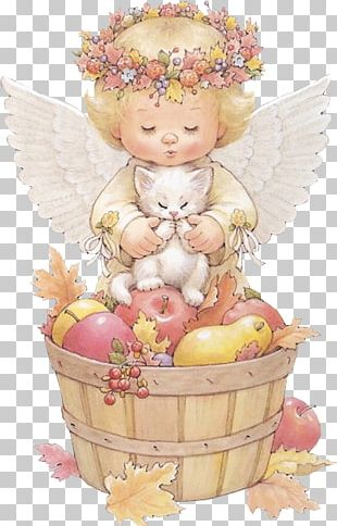 HOLLY BABES Angel Art PNG