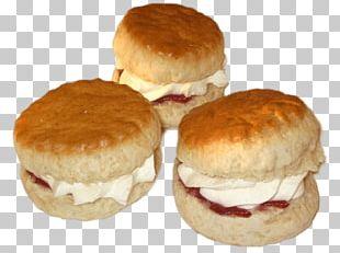 Slider Scone Clotted Cream Cream Tea PNG